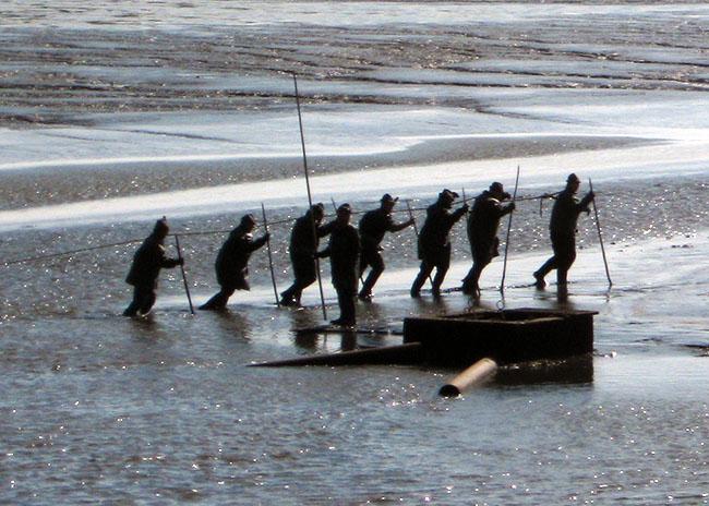 Evoluce rybářů